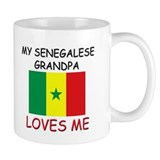 My Senegalese Grandpa Loves Me Mug