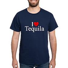"""I Love (Heart) Tequila"" T-Shirt"
