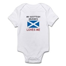 My Scottish Grandpa Loves Me Onesie