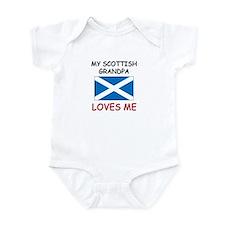 My Scottish Grandpa Loves Me Onesie