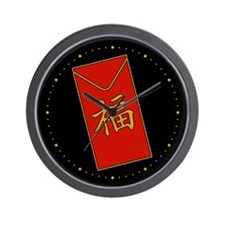 Red Packet Wall Clock