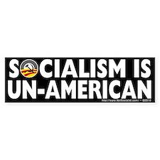 Anti-Obama Socialism is Un-American Bumper Sticker