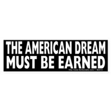 The American Dream v1 Bumper Sticker