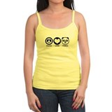 Peace Love Panda Ladies Top