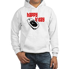 Happy B'day Hooded Sweatshirt
