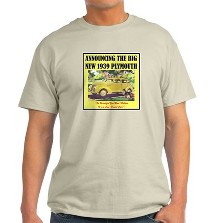 """1939 Plymouth Ad"" Light T-Shirt"