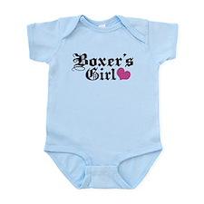 Boxer's Girl Infant Bodysuit