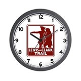 Lewis & Clark Trail, Idaho Wall Clock