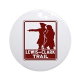 Lewis & Clark Trail, Idaho Ornament (Round)