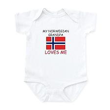 My Norwegian Grandpa Loves Me Infant Bodysuit