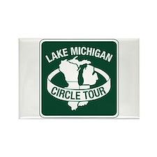 Lake Michigan Circle Tour, Wisconsin Rectangle Mag