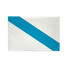 Galicia Flag Rectangle Magnet (100 pack)