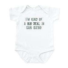 Big deal in San Diego Infant Bodysuit