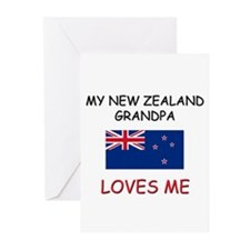 My New Zealand Grandpa Loves Me Greeting Cards (Pk