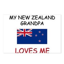 My New Zealand Grandpa Loves Me Postcards (Package