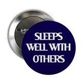 "2.25"" Sleeps Well With Others Button"