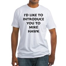 White Mike Hawk Shirt