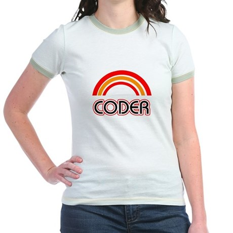 Coder Jr. Ringer T-Shirt
