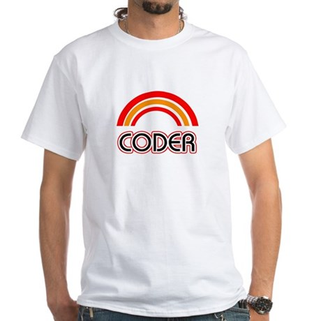 Coder White T-Shirt