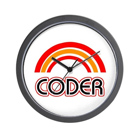 Coder Wall Clock