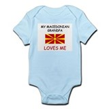 My Malagasy Grandpa Loves Me Infant Bodysuit