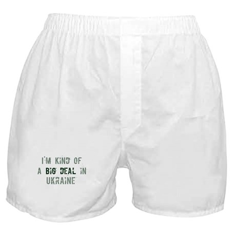 Big deal in Ukraine Boxer Shorts