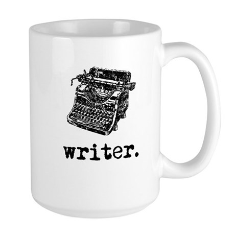 Type-Writer Large Mug