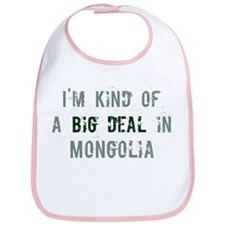 Big deal in Mongolia Bib