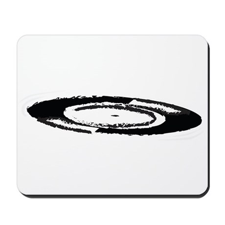Vinyl Swish Mousepad