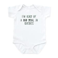 Big deal in Quebec Infant Bodysuit