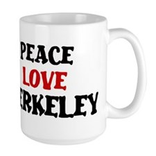 Peace Love Berkeley Mug