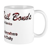 "Jackie Brown ""Cherry Bail Bon Coffee Mug"