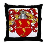 Van Twist Coat of Arms Throw Pillow