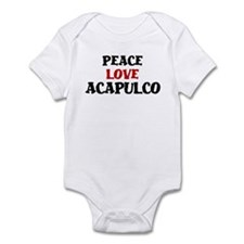 Peace Love Acapulco Infant Bodysuit