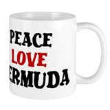 Peace Love Bermuda Coffee Mug