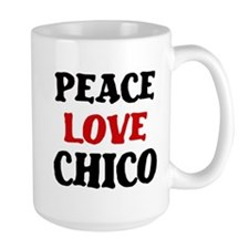 Peace Love Chico Mug