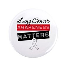 "Lung Cancer Matters 3.5"" Button"