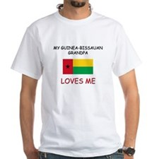 My Guinea-Bissauan Grandpa Loves Me Shirt