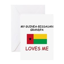 My Guinea-Bissauan Grandpa Loves Me Greeting Card
