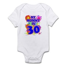 MOMMY BIRTHDAY Infant Bodysuit