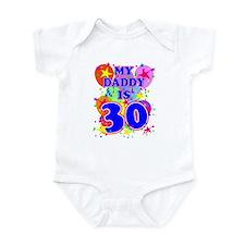 DADDY BIRTHDAY Infant Bodysuit