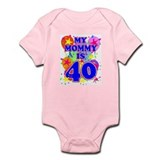 MOMMY BIRTHDAY Infant Bodysuit