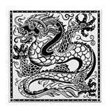 Korean Luck Dragon Tile Coaster