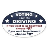 Voting/Driving Decal