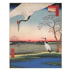 Cranes Unframed Print