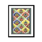 Colourful Blooms Framed Print