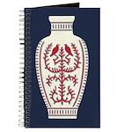Asian Vase (Blue) Journal