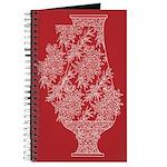 Asian Vase (Red) Journal