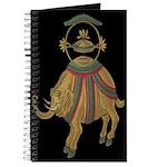 Decorative Asian Elephant 2 Journal