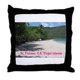 Cute  island Throw Pillow